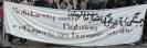 Gegenprotest gegen die NPD-Brandstifter-Tour